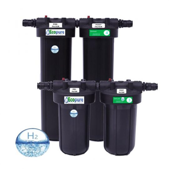 Ecopure Whole House Water Filter Systems
