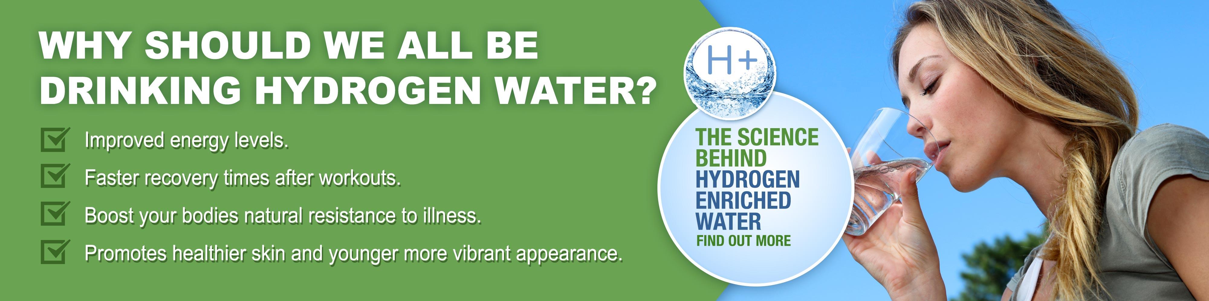 why drink hydrogen water