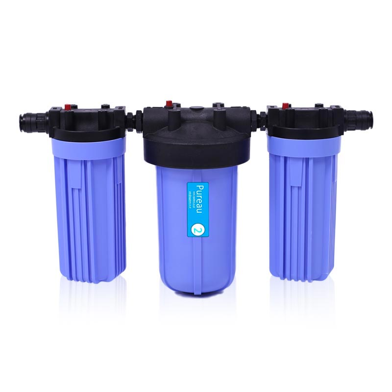 Pureau Whole House Saltless Water Softener & Drinking Water Filter