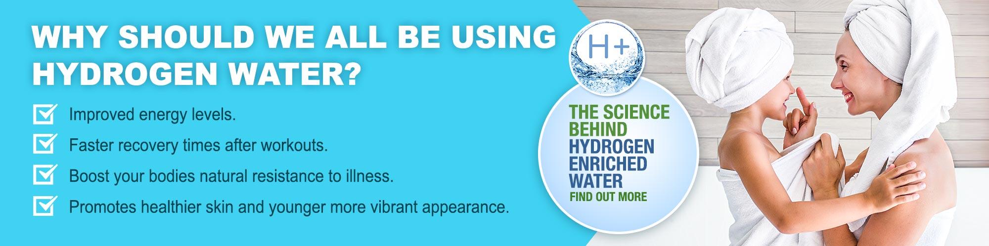 Aquatiere Hydrogenated Shower