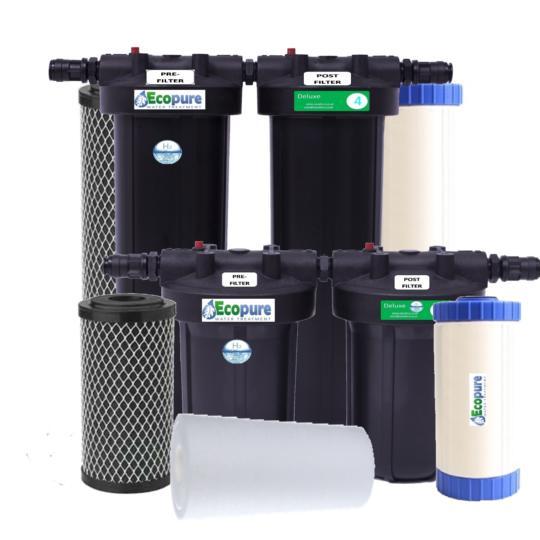 Ecopure Pro Range Replacement Cartridges
