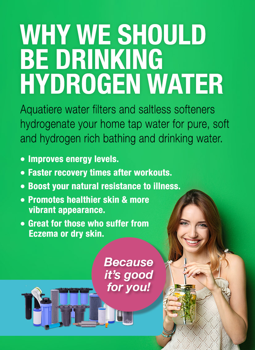 Why Drink Aquatiere Hydrogen Water