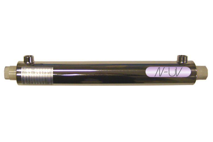 """N-UV UV Steriliser - 16 ltrs/min - 1/2"""" NPT Female Ports"""