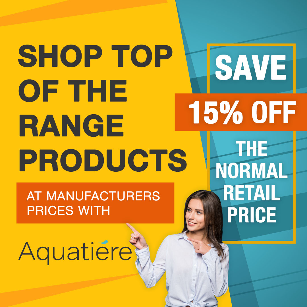 Aquatiere - Save 15% off Retail Prices
