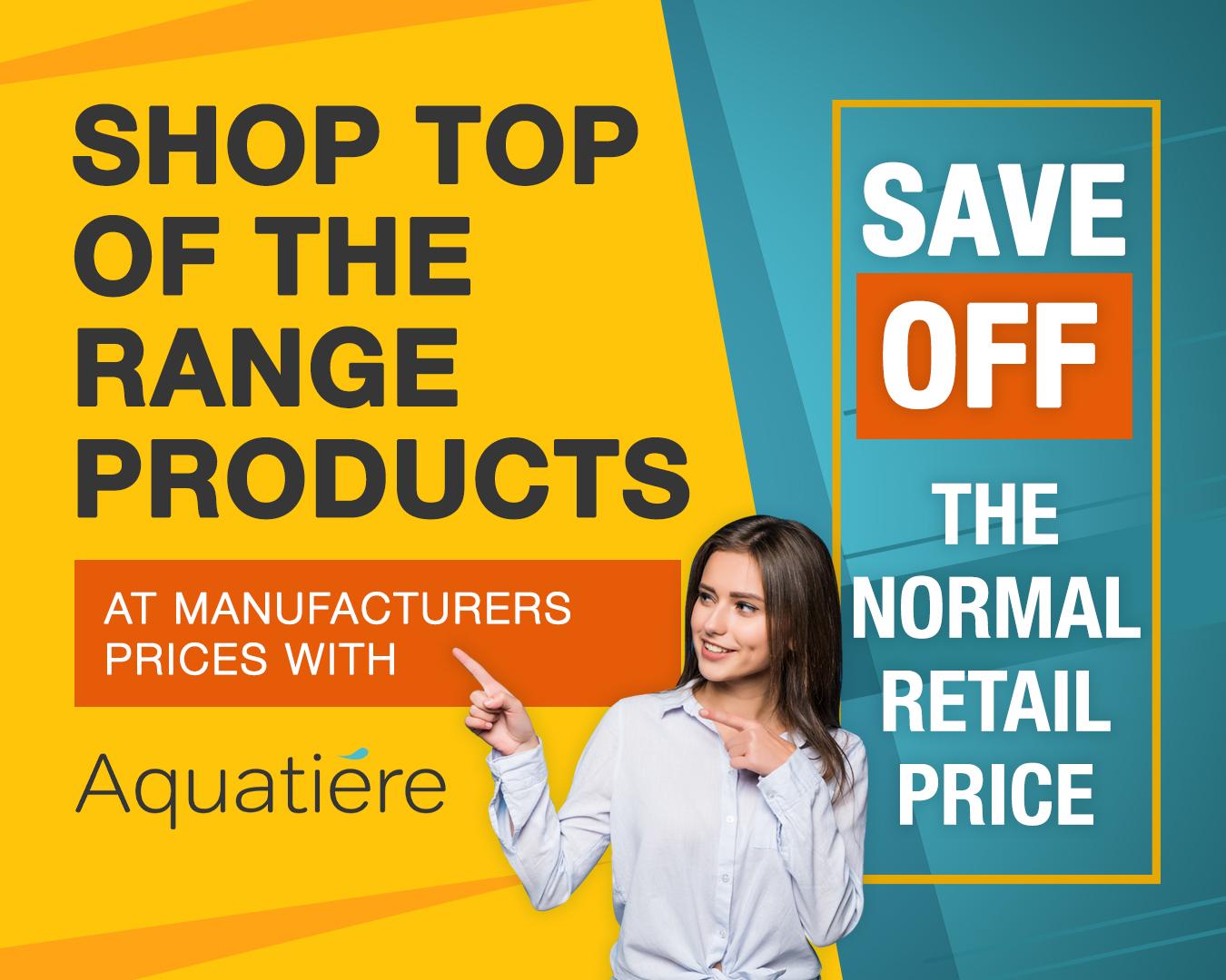 Aquatiere Retail Price Sale
