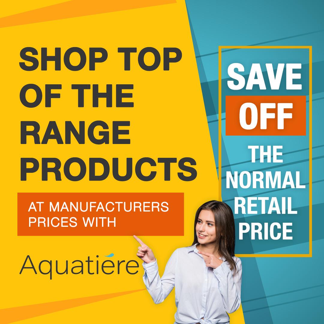 Aquatiere Retail Price Sale - Social